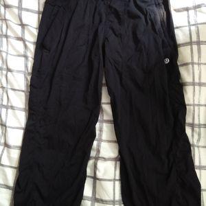 Crop studio dance pants